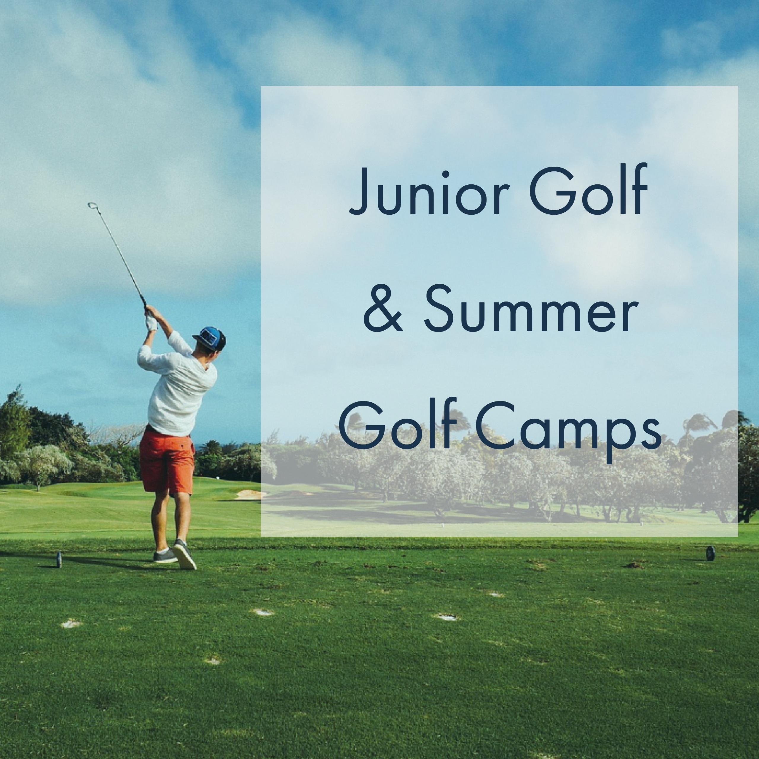 Junior Golf Summer Camp
