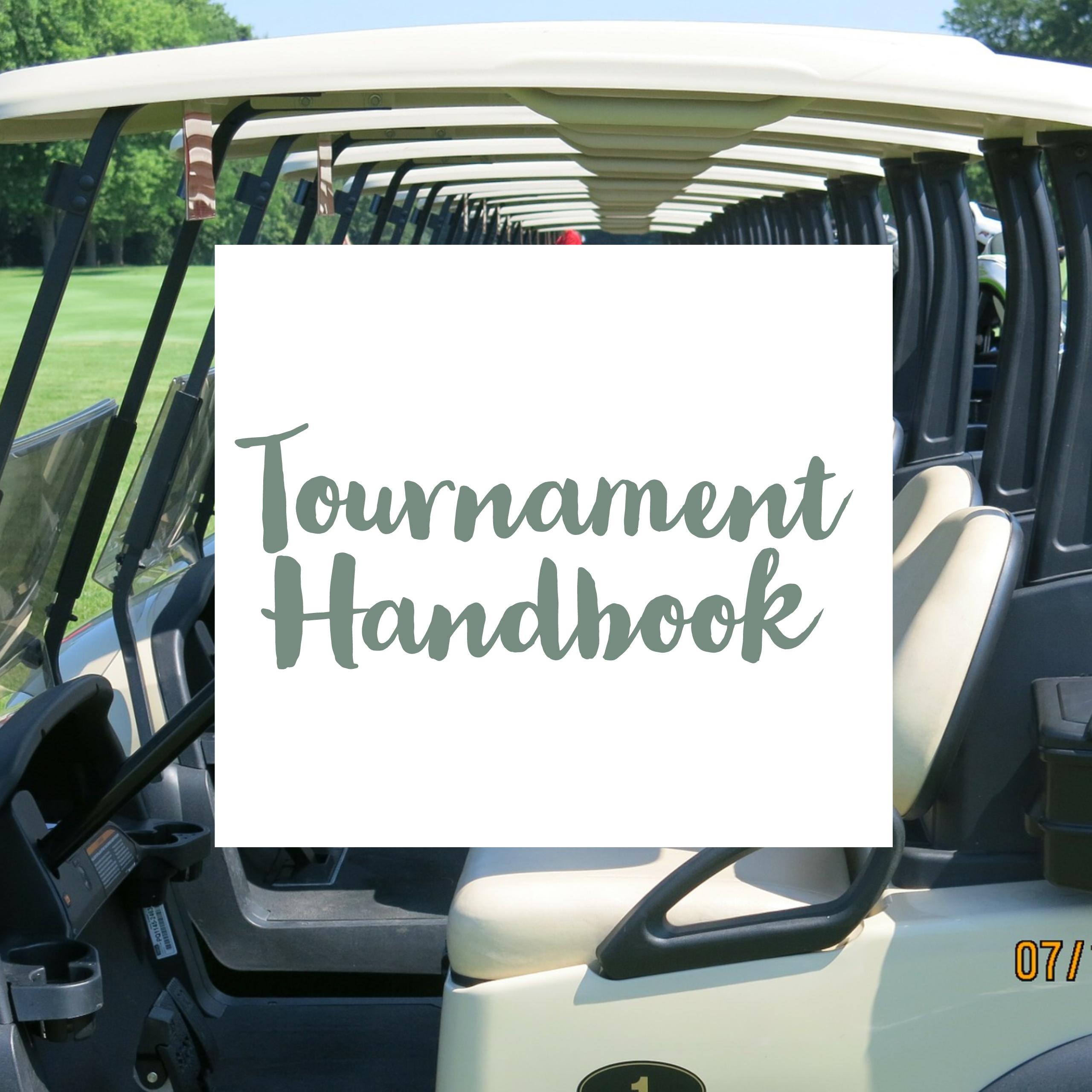 Tournament Handbook